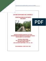 Geotecnia Puente Rio Sucio