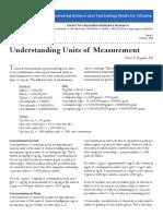 Understanding Units of Measurement