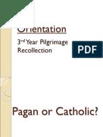 Pagan Catholic Disposition