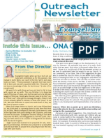 Outreach Newsletter Fall 2010