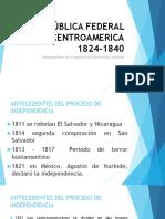 1.2.3 Federación de Centroamérica