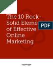 Copyblogger Rock Solid Elements Effective Online Marketing
