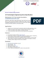 1000 MCM 1C 15KV LSZH MV-105 CTS - 1X Technologies Engineering Drive Specification