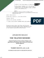 The Trained Memory_WarrenHilton