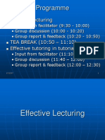 Effective Lecturing17Dec07
