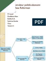 Sistem Dan Struktur Politik-ekonomi Indonesia Masa Reformasi