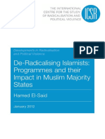 Deradicalizing Islamists