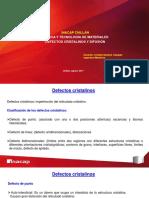 Defectos Cristalinos y Difusión (1)