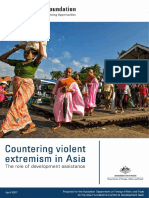 Countering Violent Extremism in Asia Devt Assistance