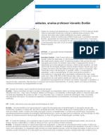 Escola Perpetua Desigualdades, Analisa Professor Idevaldo Bodião _ O POVO