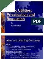 Public Utility Privatisation