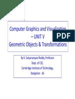 CG–UNIT-V