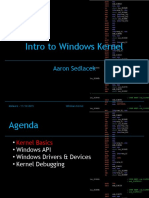 10 Intro to Windows Kernel