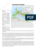 Administración Provincial Romana