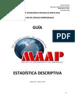 Guia Maap Estadistica Descriptiva