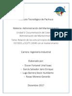 Los 8 Principios de La ISO 9001 Y TS