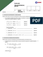 Examen Bimestral II - 1ero
