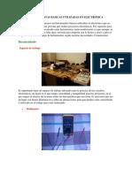 Herramientas Básicas Utilizadas en Electronica