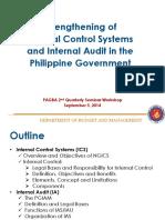 Strengthening Internal Control