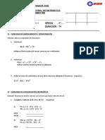 Examen Bimestral II - 3ero