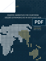 COUNTER-NARRATIVES FOR COUNTERING VIOLENT EXTREMISM (CVE) IN SOUTH EAST ASIA