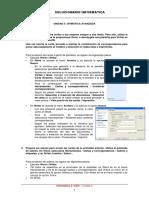 Ejercicios Informática 4º, Unidad 4