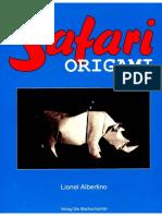Albertino, Lionel - Safari Origami