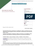 Características Del Crecimiento en Diámetro, Altura y Volumen de Una Plantación de Eucalyptus Nitens Sometida a Tratamientos Silvícolas de Poda y Raleo