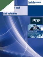EagleBurgmann DMS TSE E4 Brochure Mechnical Seal Technology and Selection en 10.11.2016