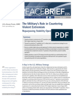 the Military s Role in Countering Violent Extremism repurposing stability operations