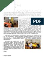 Classroom News Dec