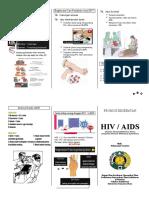 Leafleat HIV AIDS