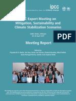 IPCC 2017 EMR Scenarios