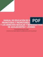 Manual Maternidad en La Adolescencia y en La Juventud - Pliegos 2