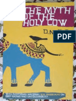 The Myth of Holy Cow -Jha Text