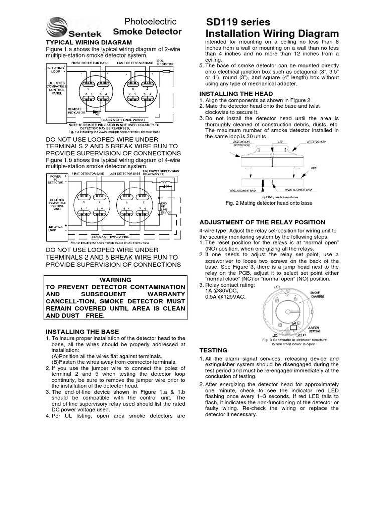 Sd119 Manual Relay Electrical Wiring