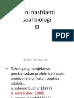 Sejarah Biologi Sel