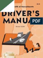 MA RMV Driver's Manual