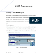 Create Program - SAP ECATT