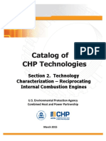 Catalog of Chp Technologies Section 2. Technology Characterization - Reciprocating Internal Combustion Engines
