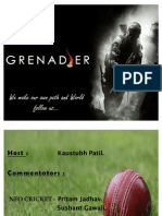 7 P's of Cricket Channels