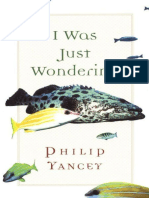 I Was Just Wondering - Philip Yancey