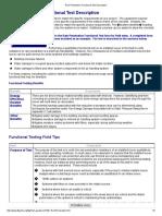 Rain Penetration Functional Test Description