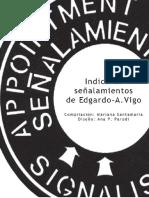 Índice de señalamientos de Edgardo A. Vigo