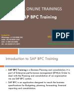 SAP BPC Training PDF