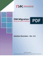 EIM Migration Tool ©