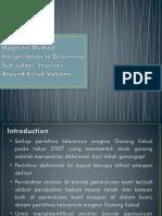Magnetic Method Interpretation to Determine