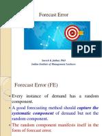 3. Forecast Error SKJ