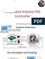 Embedded Arduino PID Controller