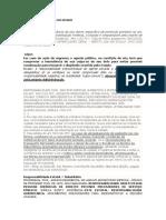 Administrativo - Jurisprudências e Bizus